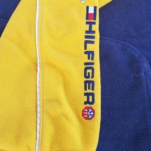 Vintage Tommy Hilfiger Fleece Spellout XL